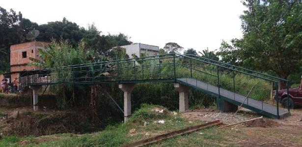 A estimativa é de que a obra tenha custado R$ 5.000. A prefeitura da cidade havia orçado a ponte em R$ 270 mil