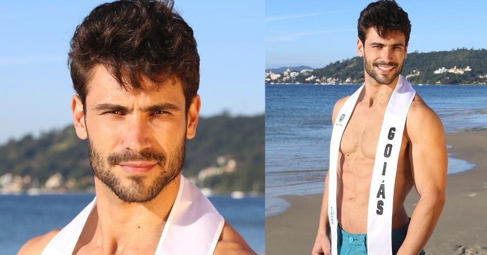 GOIÁS - Diego Prado Silva, 29, modelo e professor de educação física