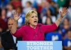 Focar no crescimento econômico seria uma arma de Hillary para bater Trump - EDUARDO MUNOZ ALVAREZ/AFP