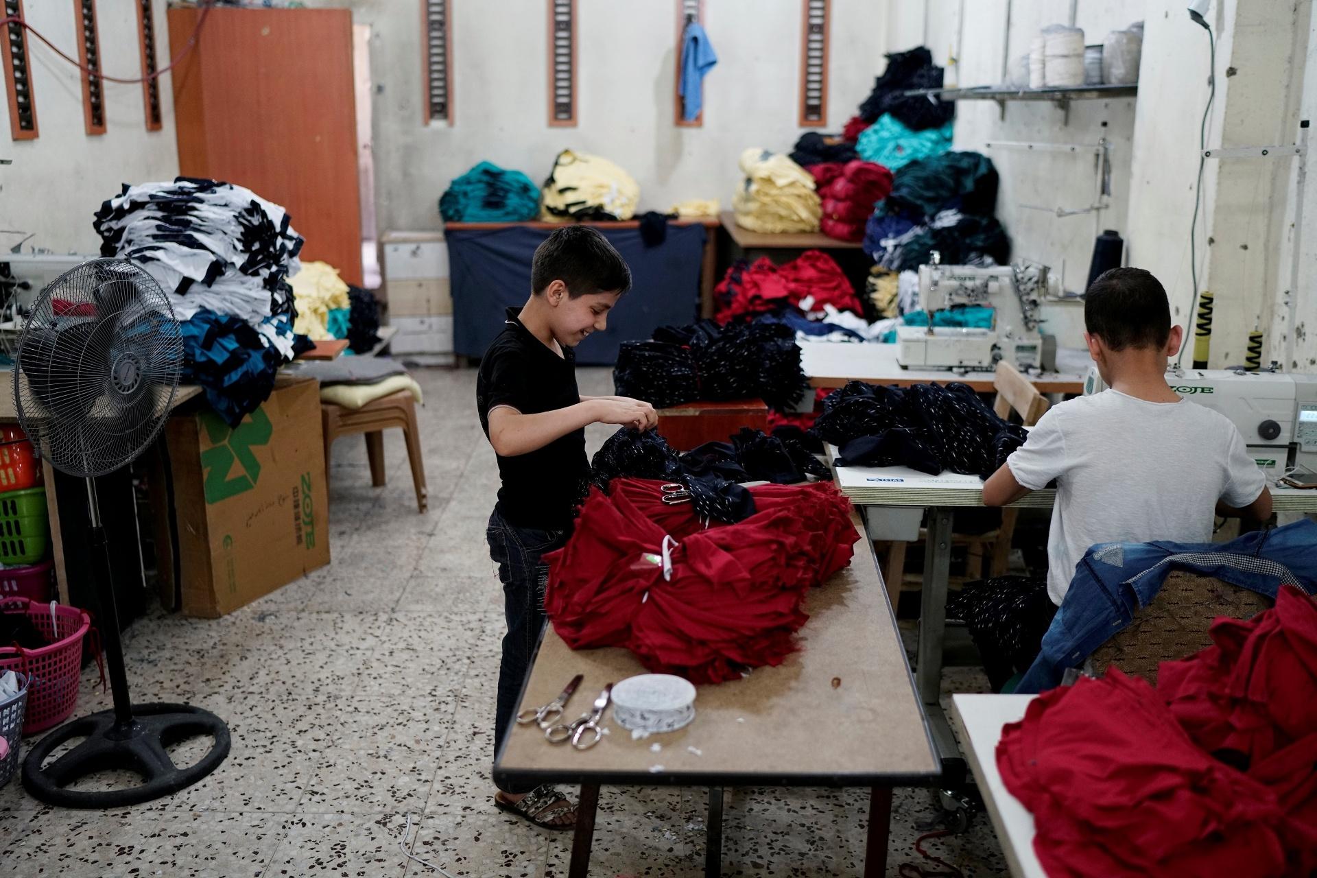 Trabalho infantil de refugiados sírios na Turquia