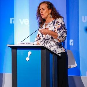 A deputada Jandira Feghali (PCdoB)