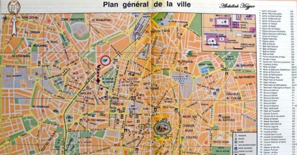 Mapas recentes também ganharam relevância, já que o traçado da cidade vem sendo alterado diariamente