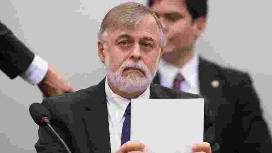 Paulo Roberto Costa, ex-diretor de Abastecimento da Petrobras, foi um dos primeiros a delatar os esquemas de corrupção na Petrobras. Devido a seu acordo de delação premiada, foi condenado a 12 anos de prisão domiciliar. - Marcelo Camargo/Agência Brasil