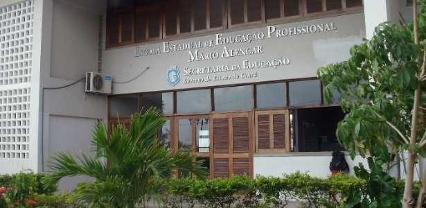 25% dos estudantes do 3º ano da Escola Estadual de Educação Profissional Mário Alencar, no Ceará, foram aprovados em universidades públicas em 2017 - Divulgação