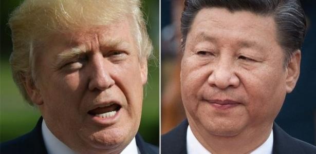 Donald Trump e Xi Jinping estão em meio a uma guerra comercial que poderia empregar armas muito mais prejudiciais do que tarifas - AFP
