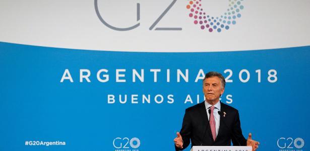 """""""Não se pode militarizar a cidade para jogar uma partida de futebol"""", diz Macri - ANDRES STAPFF/REUTERS"""