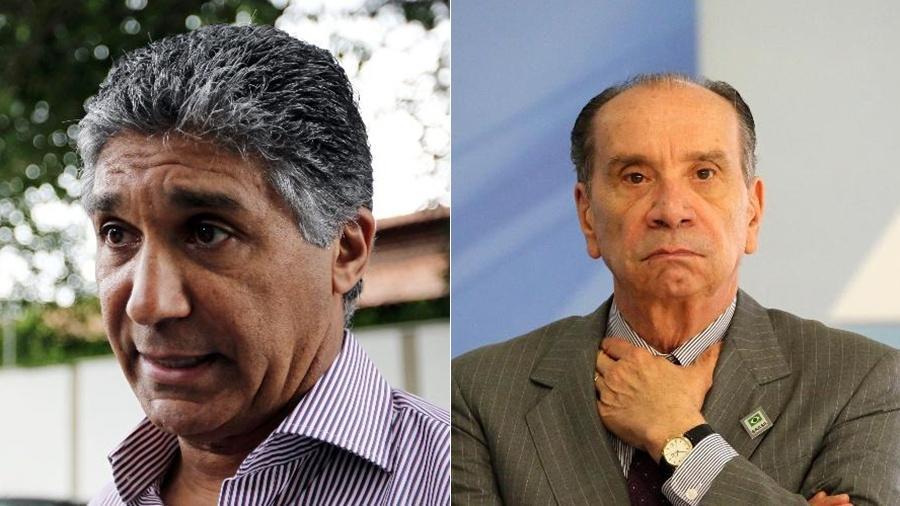 Paulo Preto (à esq.) e Aloysio Nunes - Robson Fernandes/Estadão Conteúdo e Fátima Meira/Futura Press/Folhapress