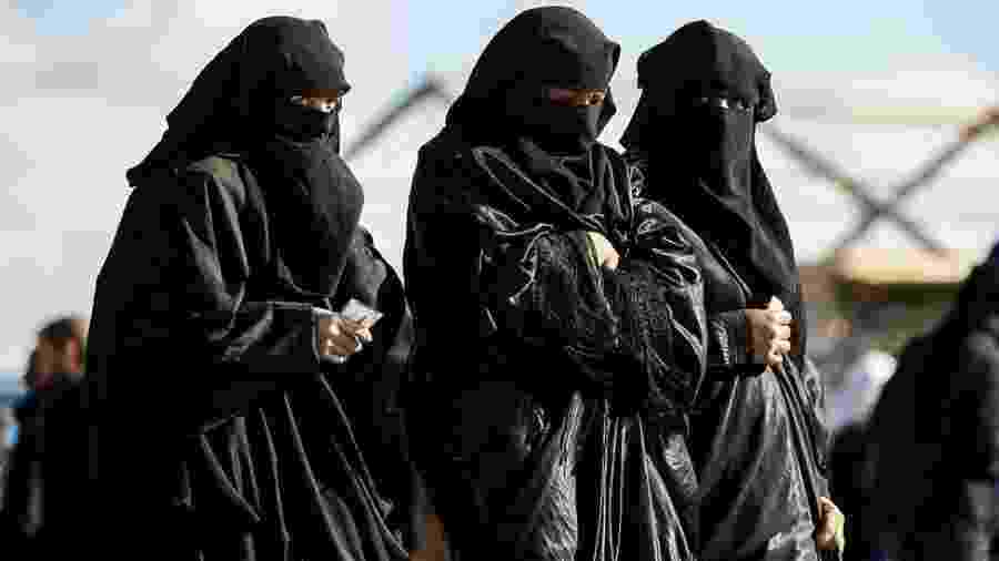Os países europeus se recusaram a receber de volta cidadãos presos por estarem vinculados ao Estado Islâmico - Getty Images