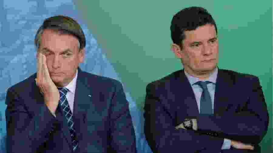 Há quem veja em disputa sobre pasta neste início de 2020 um sinal de uma disputa que pode se configurar em 2022 entre Bolsonaro e Moro: as eleições presidenciais - Adriano Machado/Reuters