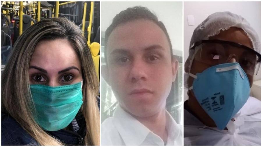 Márcia Lima, Rodolfo Pessoa e Tatiana da Silva - Arquivo Pessoal