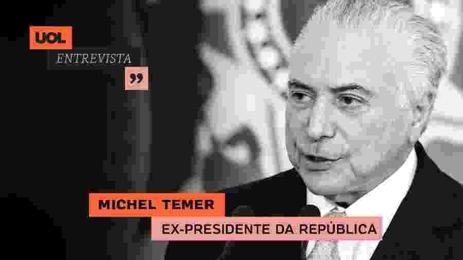 UOL Entrevista com Michel Temer (06.07.20) - Arte/UOL