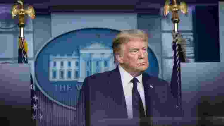 Donald Trump em coletiva de imprensa - EPA - EPA