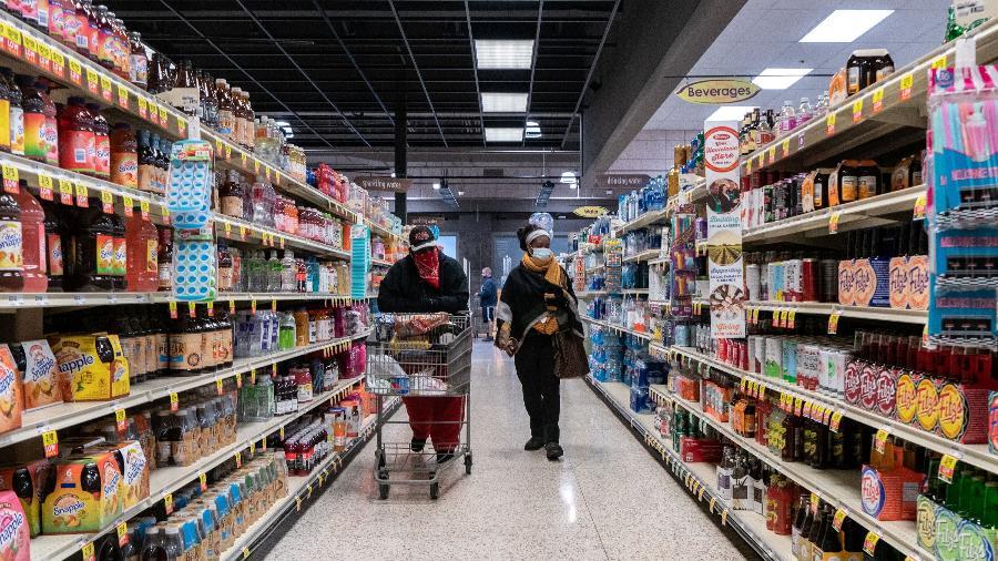 Supermercado em St Louis, Estados Unidos - Lawrence Bryant