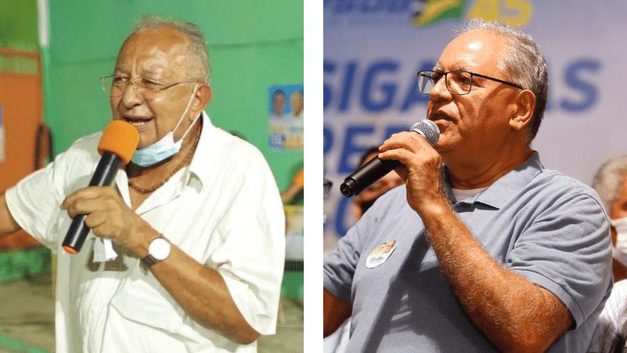 Dr. Pessoa (MDB) e Kleber Montezuma (PSDB) são candidatos a prefeito de Teresina - Reprodução/Facebook/Arte-UOL