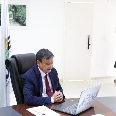 Wellington Dias (PT) informou que imunização pode começar já no dia 21 - Governo do Piauí/Divulgação
