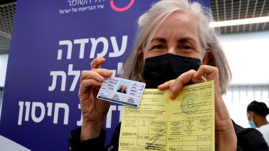 Velocidade do programa de vacinação contra a covid-19 de Israel tem sido impressionante - Getty Images