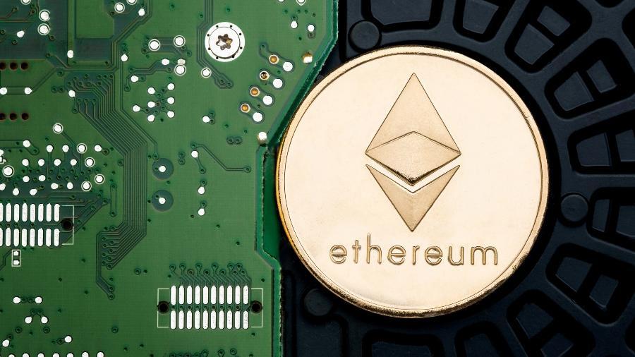 A criptomoeda da Ethereum é atualmente a segunda maior moeda digital em valor de mercado - Getty Images