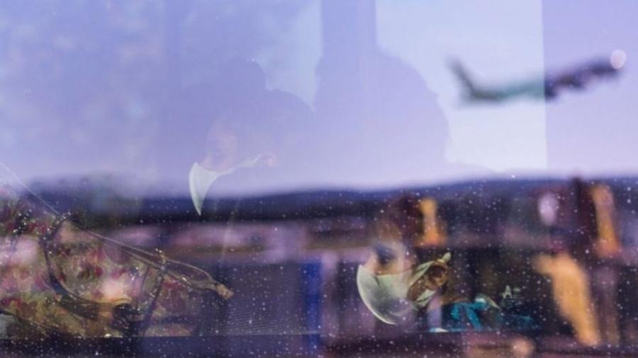 Todos os voos da Índia, incluindo voos de repatriação, foram proibidos na Austrália - Getty Images