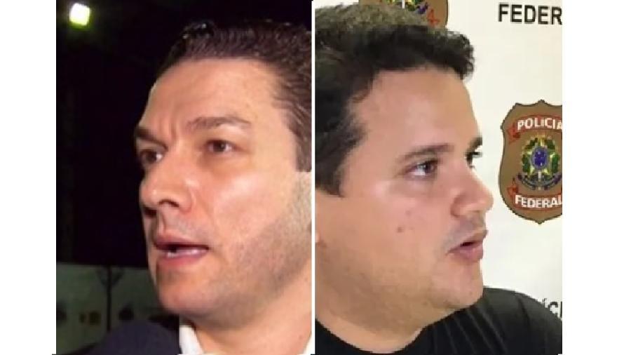 Paulo Maiurino, diretor-geral da PF, e Felipe Leal, que conduzia inquérito que apura suposta interferência de Bolsonaro na PF. Investigação não se confunde com expedição especulativa - Reprodução