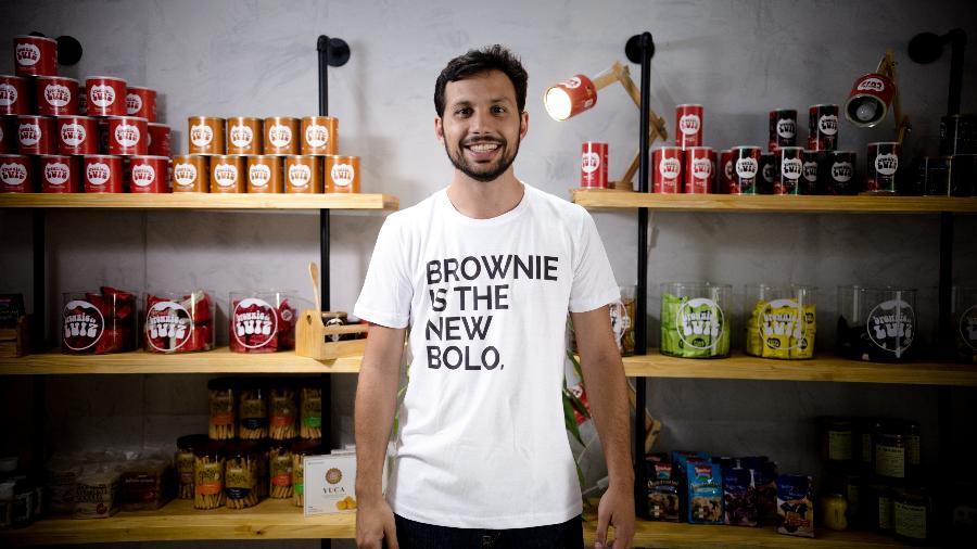 Luiz Quinderé criou o Brownie do Luiz em 2011; quatro anos depois, convidou Vânia para ser sócia - Divulgação