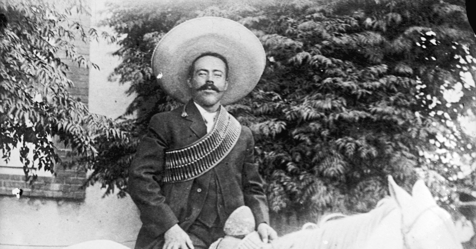 O revolucionário mexicano Pancho Villa