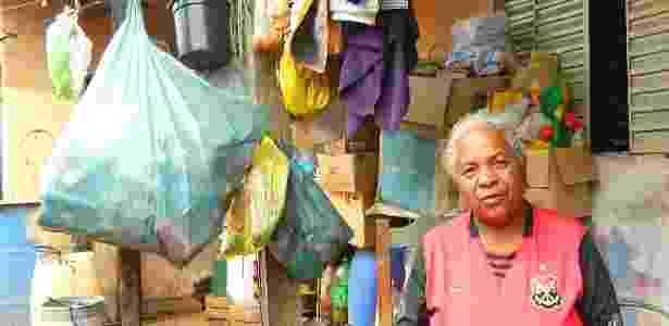 """""""Se eu pegasse, seria roubo e nunca roubei nem uma agulha"""", diz Tereza - Jéssica Nascimento/UOL"""