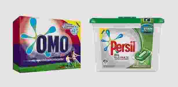 Omo/Persil - Montagem/Divulgação - Montagem/Divulgação