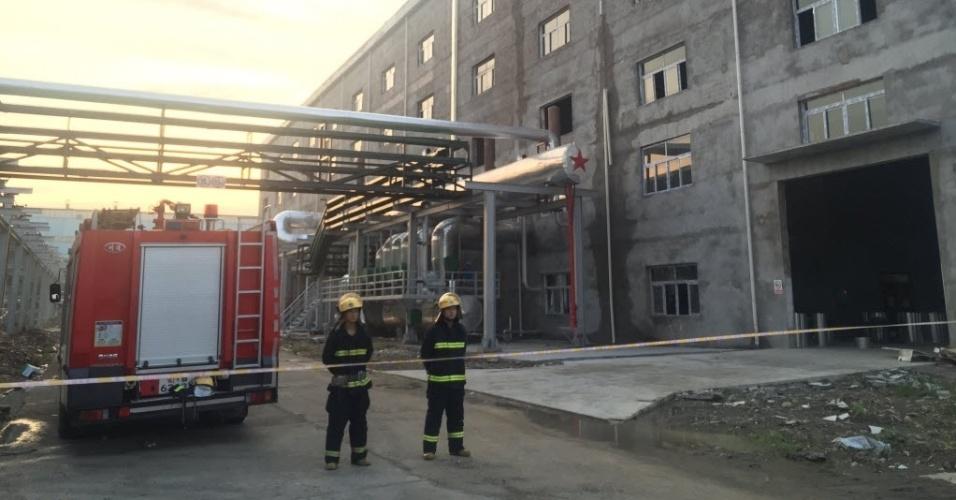 11.ago.2016 - Uma explosão em uma central elétrica do centro da China deixou pelo menos 21 mortos e cinco feridos, três em estado grave. A explosão aconteceu devido a uma ruptura de um duto de vapor de pressão em um complexo industrial da cidade de Dangyang, província de Hubei