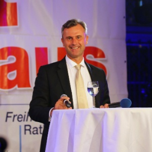 Norbert Hofer, candidato a presidente da Áustria