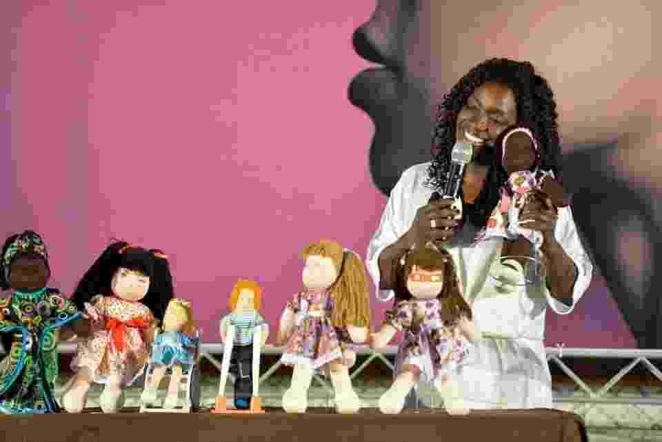 Preta Pretinha, que vende bonecas da diversidade - Divulgação