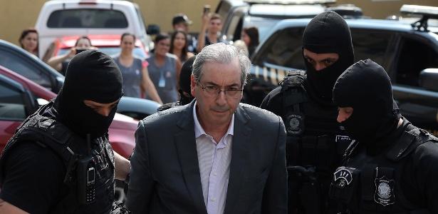 Ex-deputado Eduardo Cunha está preso em Curitiba desde o dia 19 de outubro