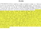 """Diário do TJ-PB publica texto na língua de Mussum: """"A ordem dos tratoris não altera o pão duris"""" - Reprodução"""