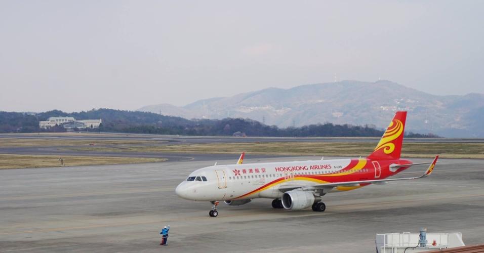 Avião da Hong Kong Airlines