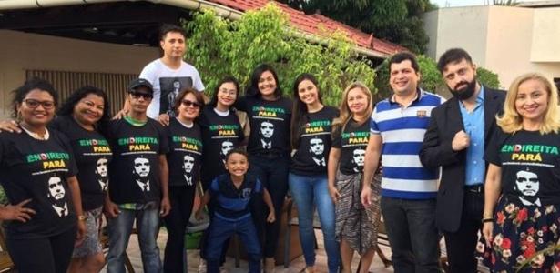 Grupo Endireita Pará criou um sistema de segurança para a estadia de Bolsonaro em Belém