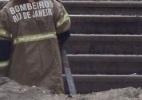 Meteorito Bendegó resiste a incêndio no Museu Nacional (Foto: Clever Felix/Estadão Contedúo)