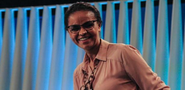 Marina Silva, líder da Rede Sustentabilidade
