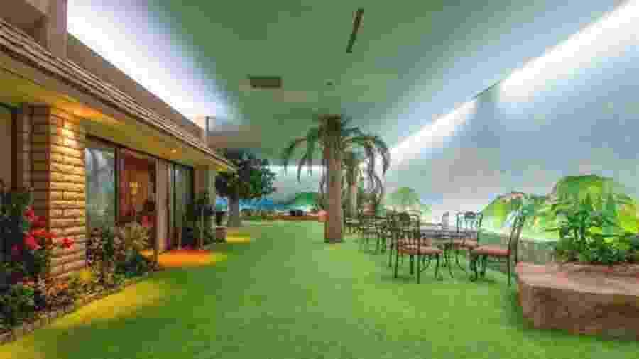 Abrigo antibombas de luxo tem até um jardim próprio - Berkshire Hathaway