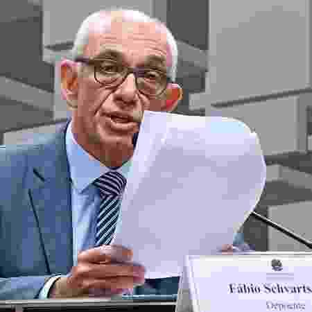 Fábio Schvartsman, presidente afastado da Vale, na CPI de Brumadinho no Senado - Edilson Rodrigues/Agência Senado