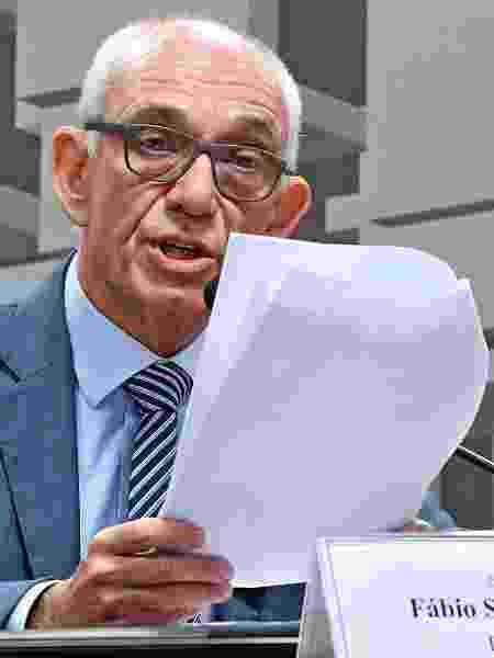 Fábio Schvartsman, presidente afastado da Vale, depõe na CPI de Brumadinho, no Senado - Edilson Rodrigues/Agência Senado