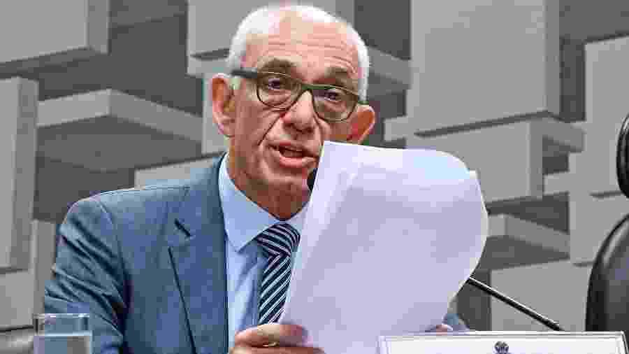 Fábio Schvartsman, presidente afastado da Vale, depõe em CPI de Brumadinho - Edilson Rodrigues/Agência Senado
