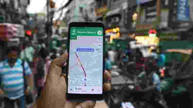 A nova atualização do Google Maps está disponível para iOS e Android desde 6 de fevereiro - Getty Images