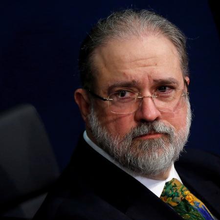"Brazil""s new Prosecutor-General Aras looks on during his handover ceremony in Brasilia - ADRIANO MACHADO"