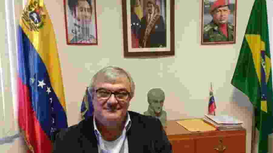 Cônsul da Venezuela em Boa Vista, Faustino Torella morreu devido a complicações da covid-19 - Reprodução/Twitter
