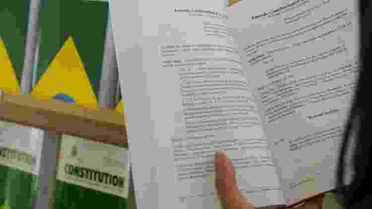 Constituição somente em bbc - Beto Oliveira/Senado Federal - Beto Oliveira/Senado Federal
