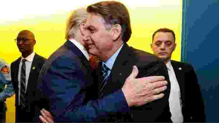 bolso_trump - Alan Santos/PR - Alan Santos/PR