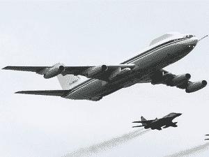 Il-80 russo - Andrey Smirnov/AFP - Andrey Smirnov/AFP