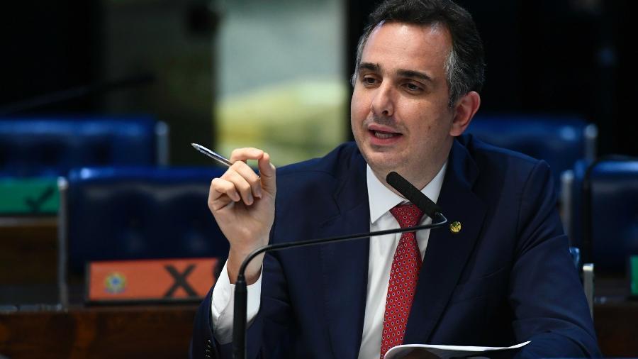 Senador Rodrigo Pacheco (DEM-MG), candidato à presidência do Senado em 2021 - Marcos Oliveira/Agência Senado