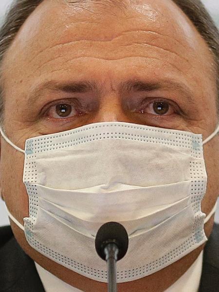 O ex-ministro da Saúde, general Pazuello: logística foi solução, não escolha - Dida Sampaio/Estadão Conteúdo
