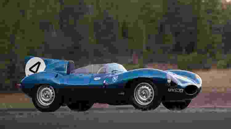 Jaguar D-Type 1955 - RM Sotheby's / Divulgação  - RM Sotheby's / Divulgação