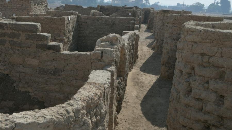 Cidade próxima a Luxor está conservada - Divulgação/Reuters